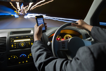 Distracted while driving - how dangerous is it?