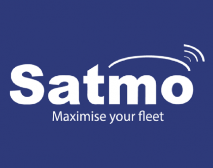 Satmo software and tracking system logo