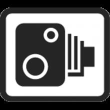 speed cameras sign