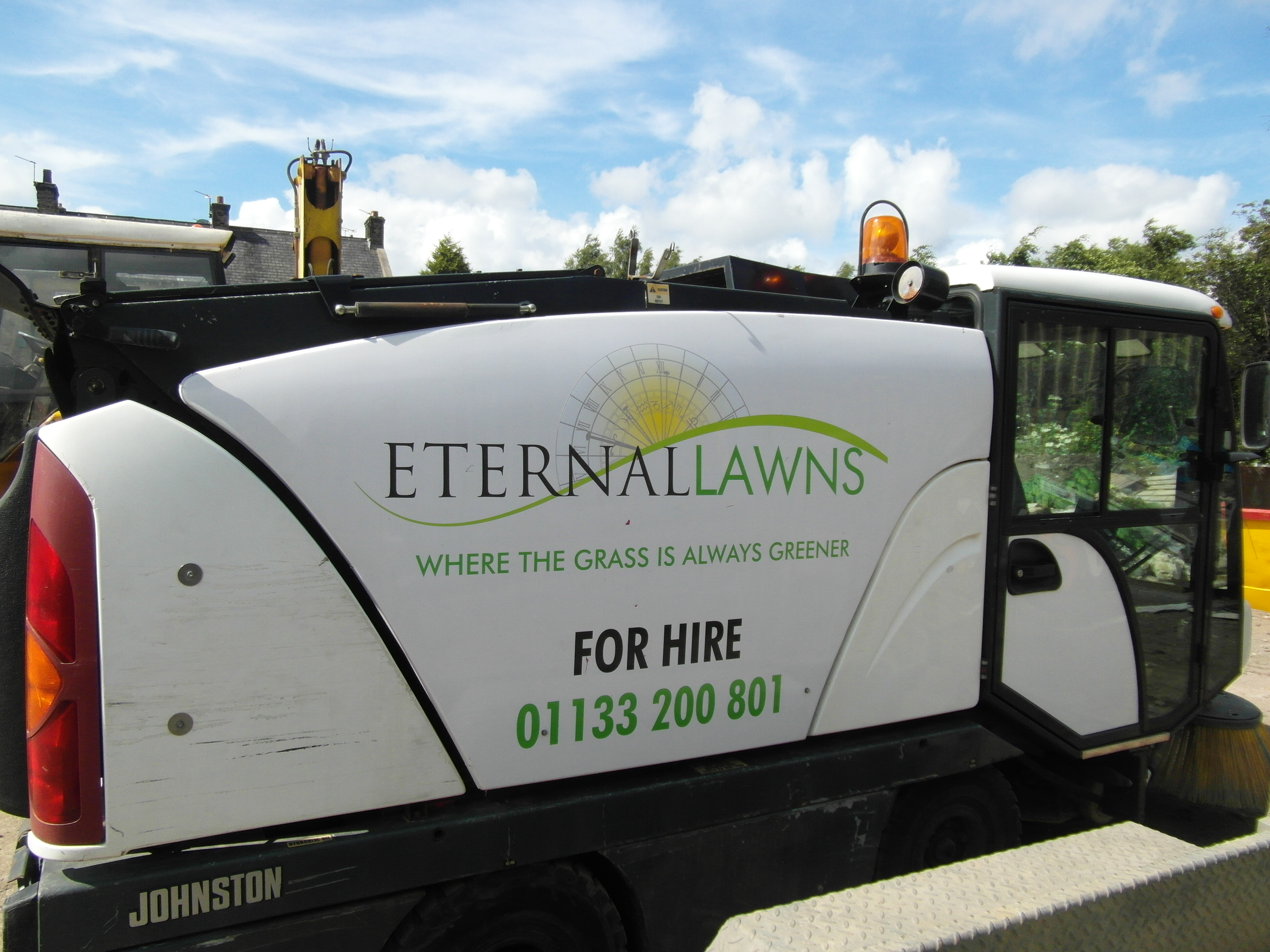 Eternal Lawns sweeper