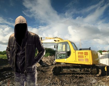 plant machinery theft