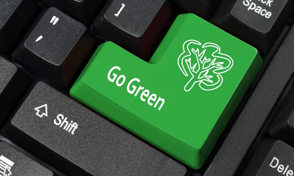 help your business go green