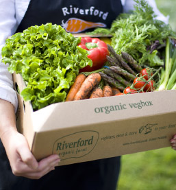 veg box delivery from Riverford home delivery
