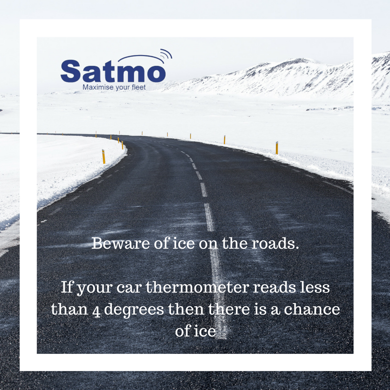 winter driving tip - ice on roads